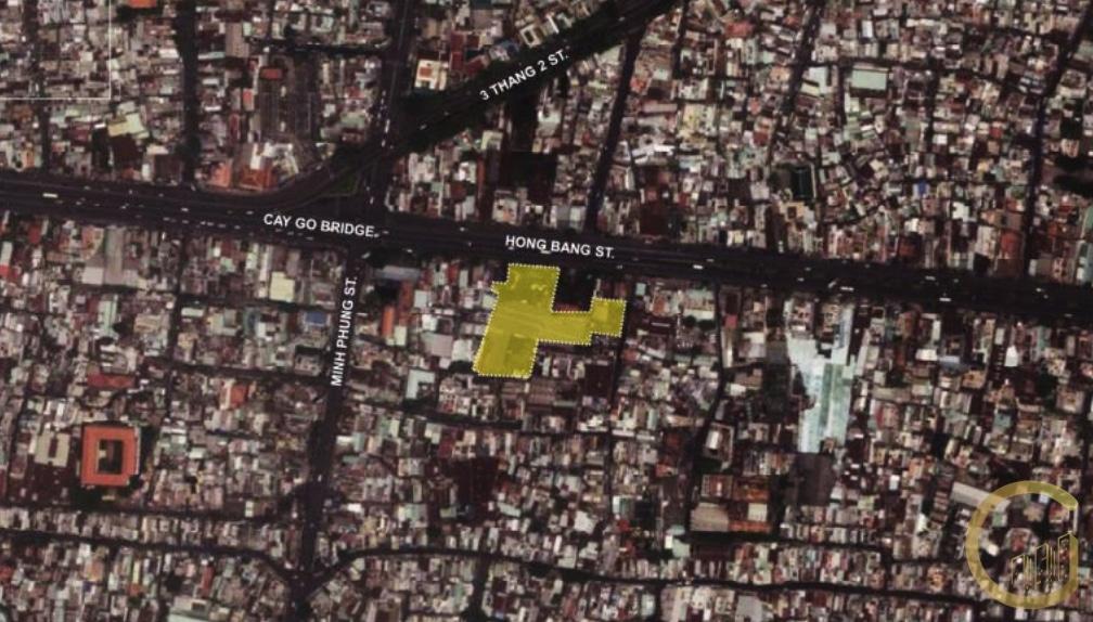 Địa chỉ vị trí dự án căn hộ D-HOMME Quận 6