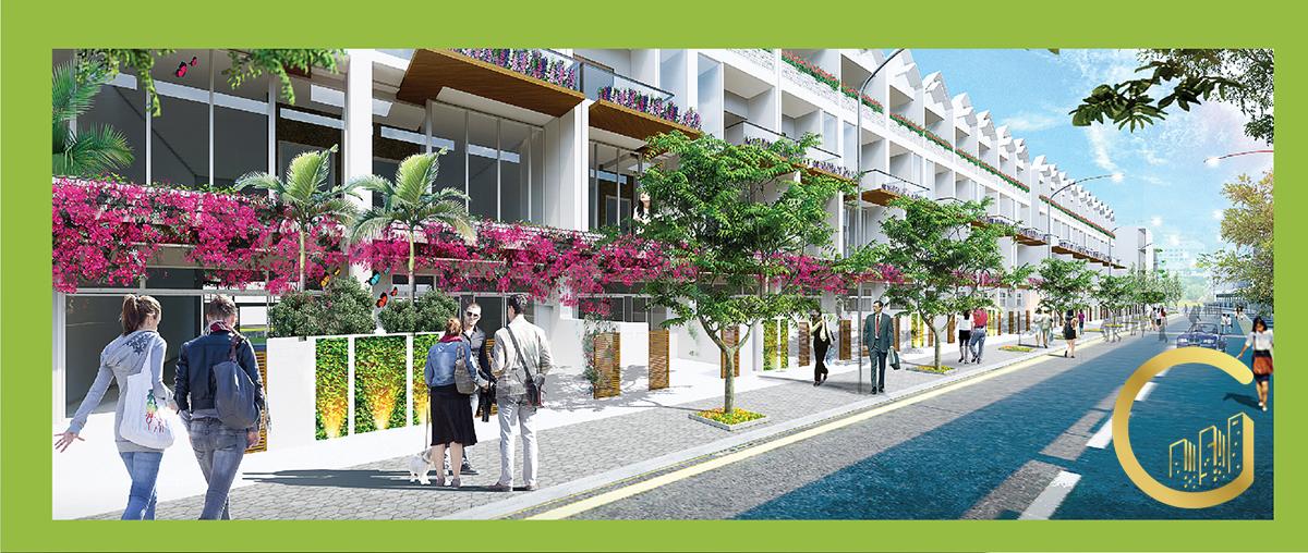 Tiện ích phố đi bộ Khu Phức Hợp LIC CITY Phú Mỹ