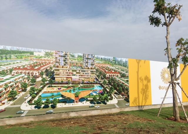 Một dự án đất nền tại BÀ Rịa Vũng Tàu