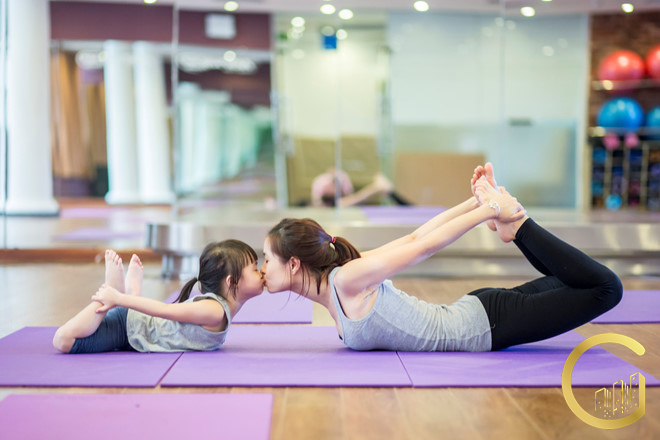 Hình ảnh minh họa tiện ích Yoga tại dự án The West City