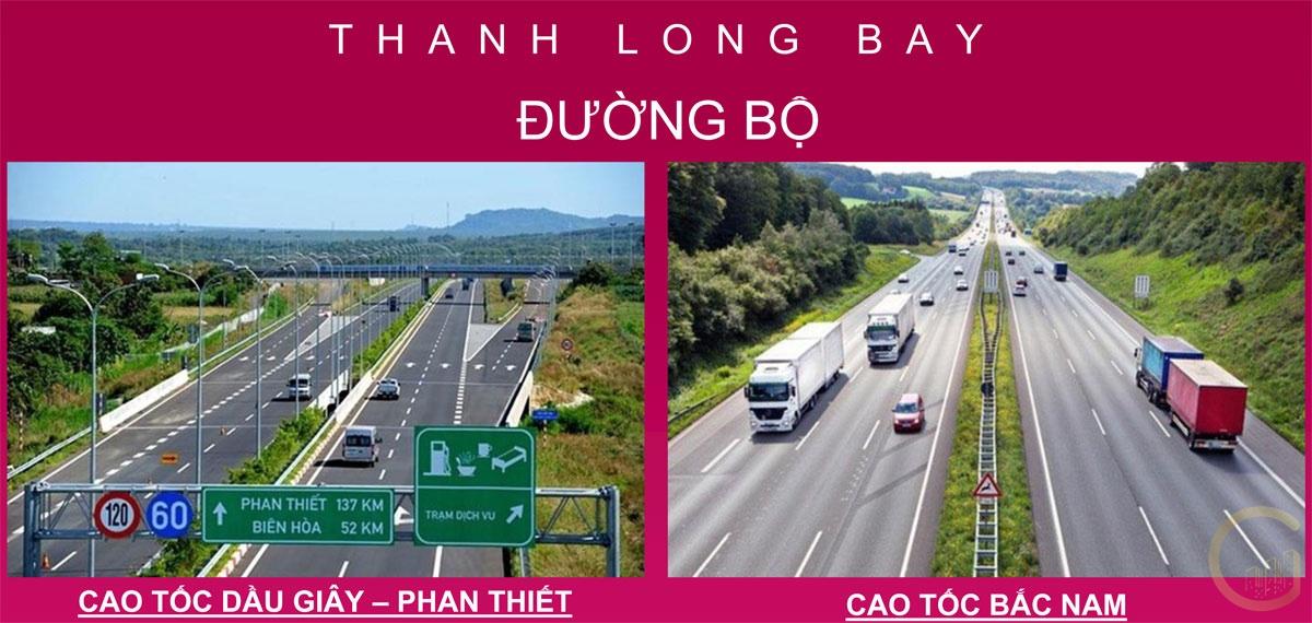 Dự án THANH LONG BAY kết nối đường bộ