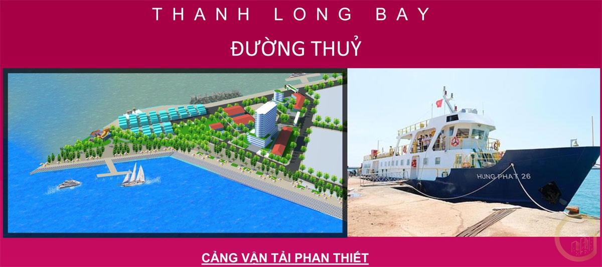 Dự án THANH LONG BAY kết nối đường Thủy