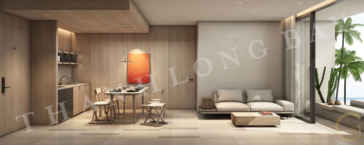 Dự án Thanh Long Bay Thiết kế Căn hộ 3 Phòng Ngủ Block Sky Garden