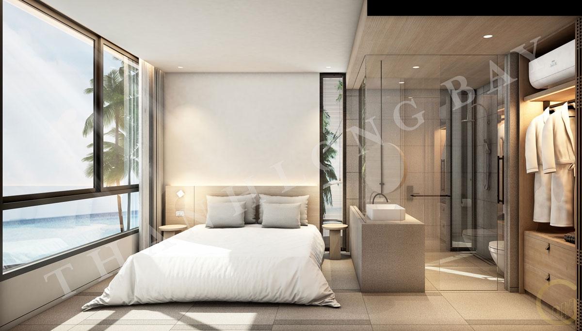 Dự án Thanh Long Bay Thiết kế Căn hộ 2 Phòng Ngủ Block Sky Garden