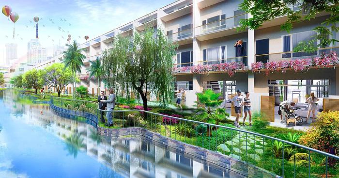 Lic City đang là dự án hút khách bậc nhất Phú Mỹ.