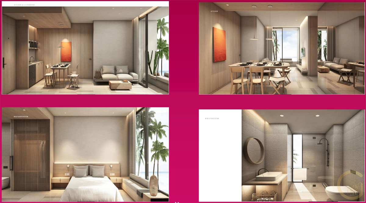 Nội thất Căn hộ 3 Phòng Ngủ Thanh Long Bay