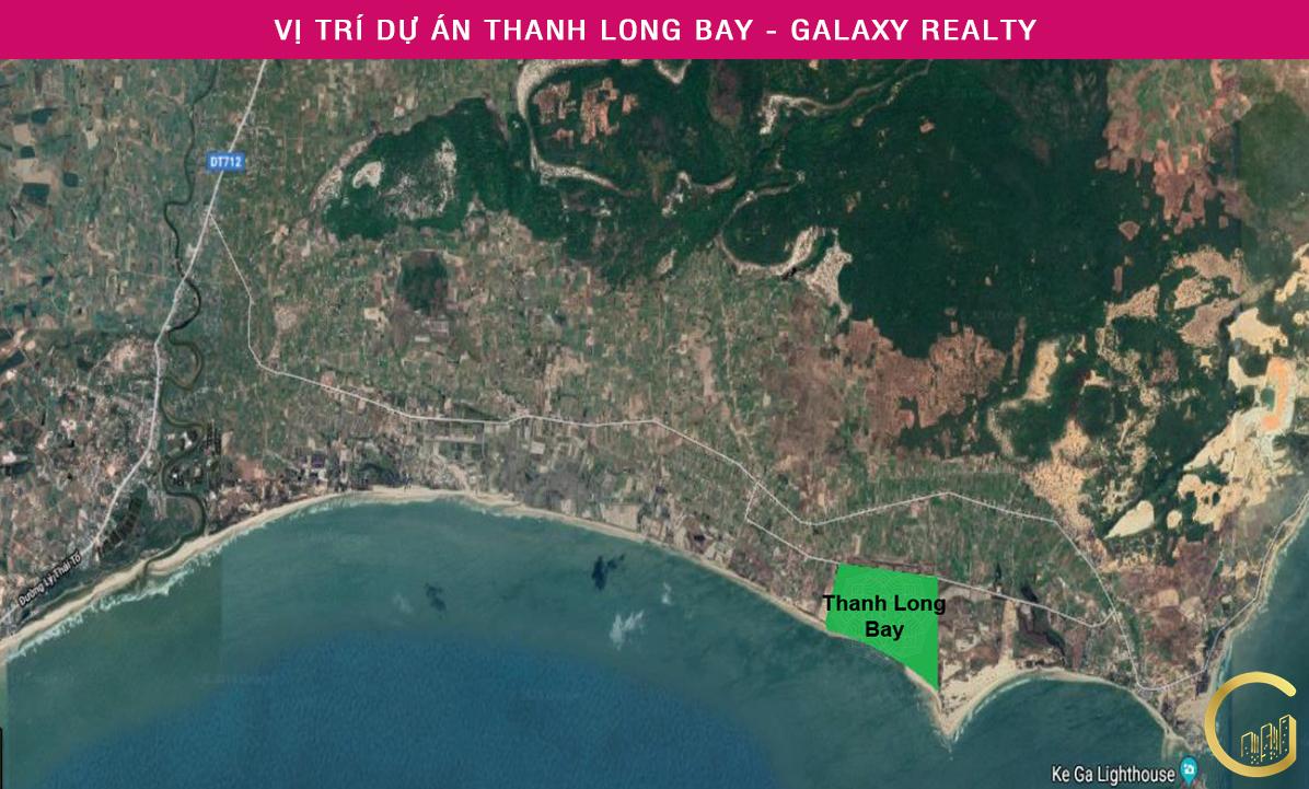 Địa chỉ vị trí chính xác Thanh Long Bay