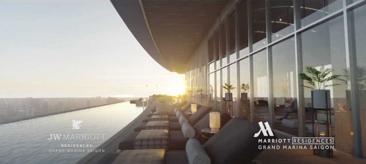 Ho boi Grand Marina SaiGon JW Marriott - GRAND MARINA SAIGON QUẬN 1