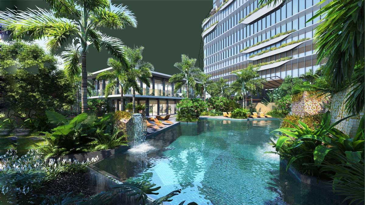 Ho boi Grand Marina Saigon Ba Son - GRAND MARINA SAIGON QUẬN 1