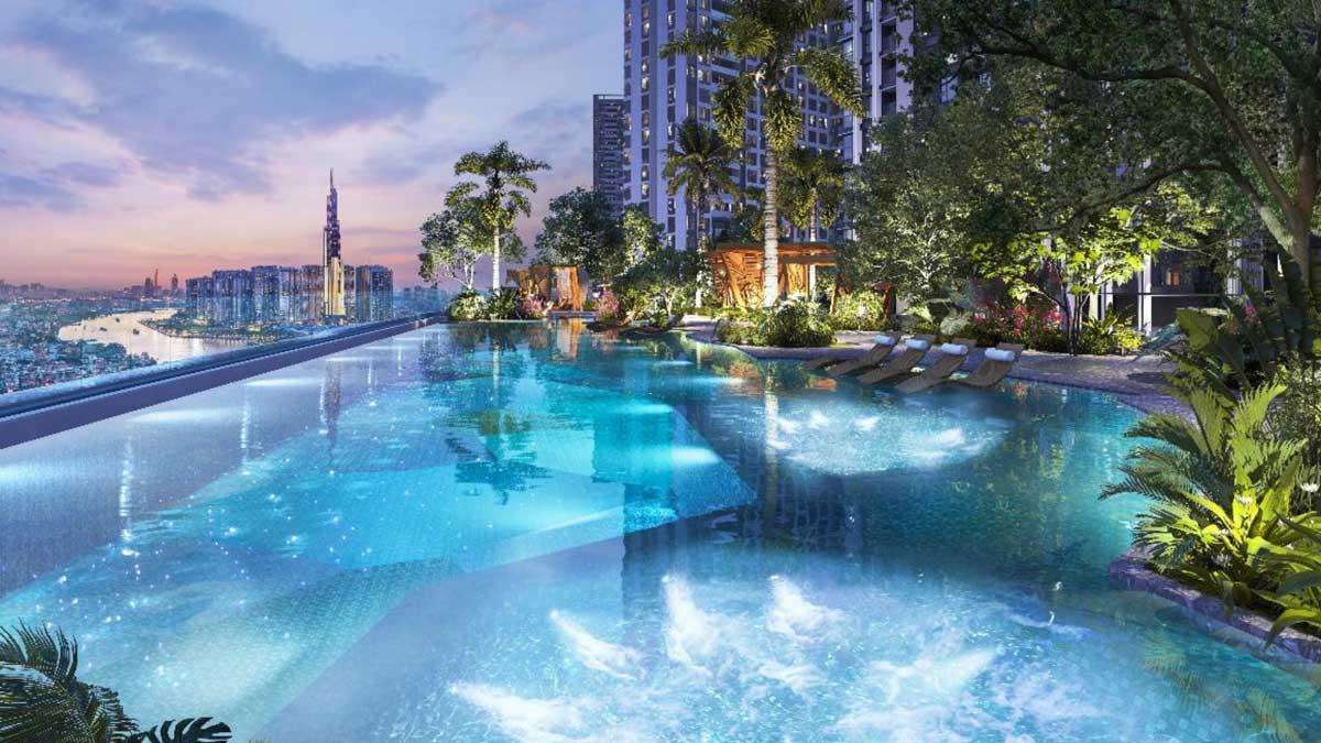 Ho boi Skyview Grand Marina Saigon - GRAND MARINA SAIGON QUẬN 1