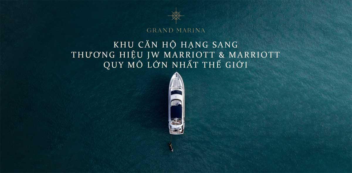 Khu can ho hang sang Grand Marina SaiGon - GRAND MARINA SAIGON QUẬN 1