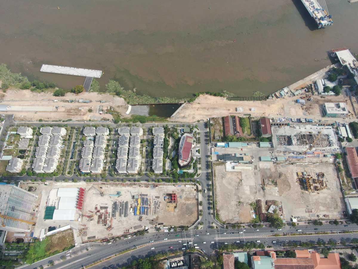 Tien do thi cong Du an Can ho Grand Marina Saigon - GRAND MARINA SAIGON QUẬN 1