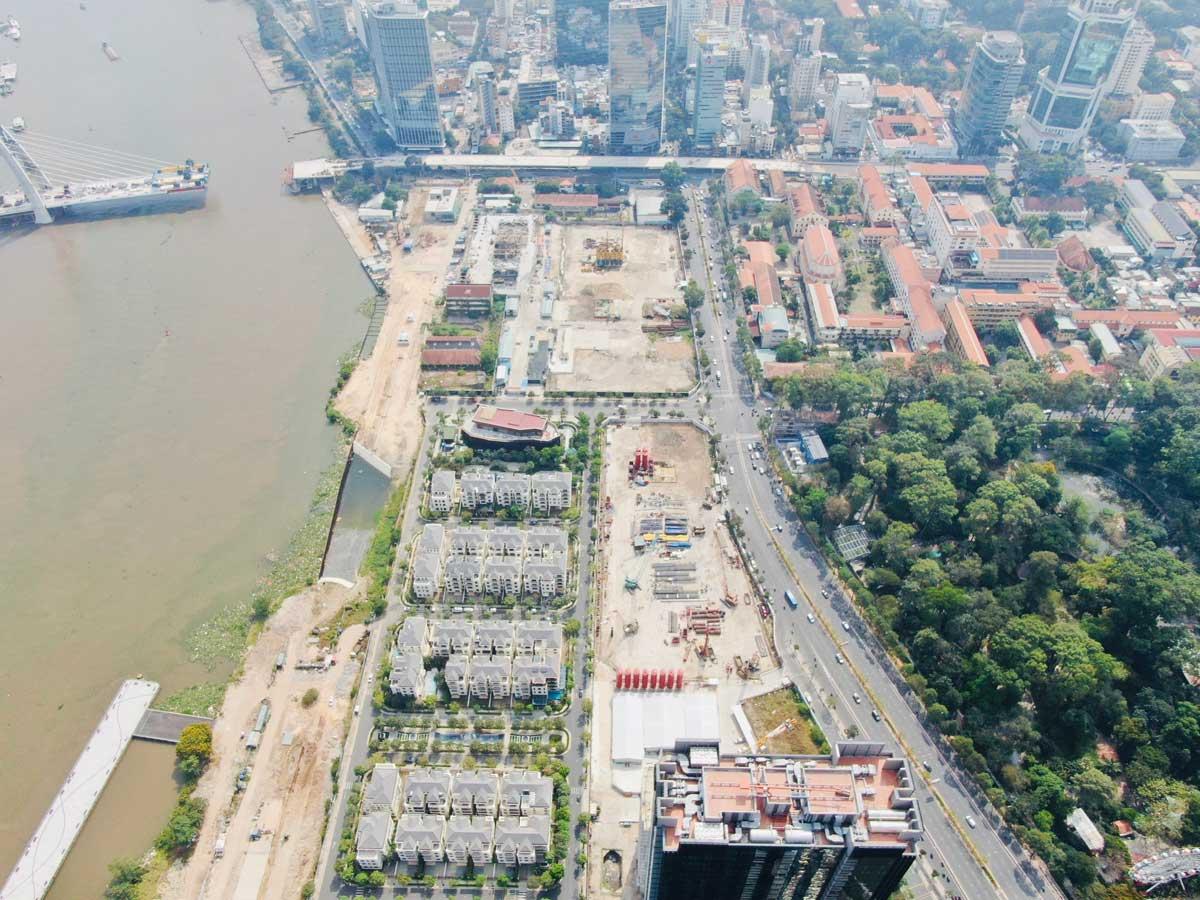 Tien do thi cong Du an Grand Marina Saigon Q1 - GRAND MARINA SAIGON QUẬN 1