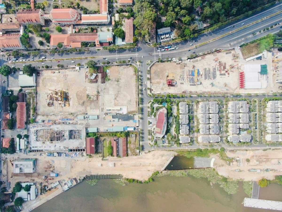 Tien do thi cong Du an Grand Marina Saigon Ton Duc Thang - GRAND MARINA SAIGON QUẬN 1
