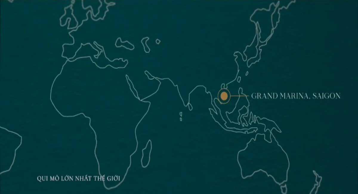 Vi tri Du an Can ho Grand Marina Sai Gon - GRAND MARINA SAIGON QUẬN 1