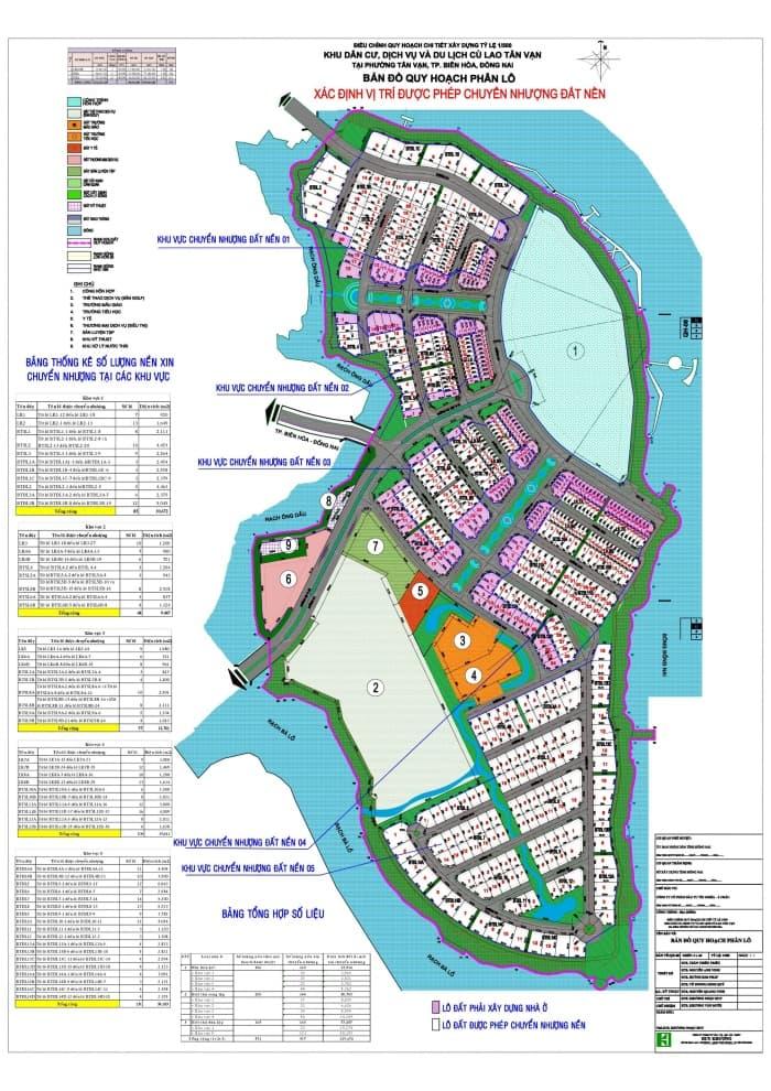 bản đồ quy hoạch dự án centria